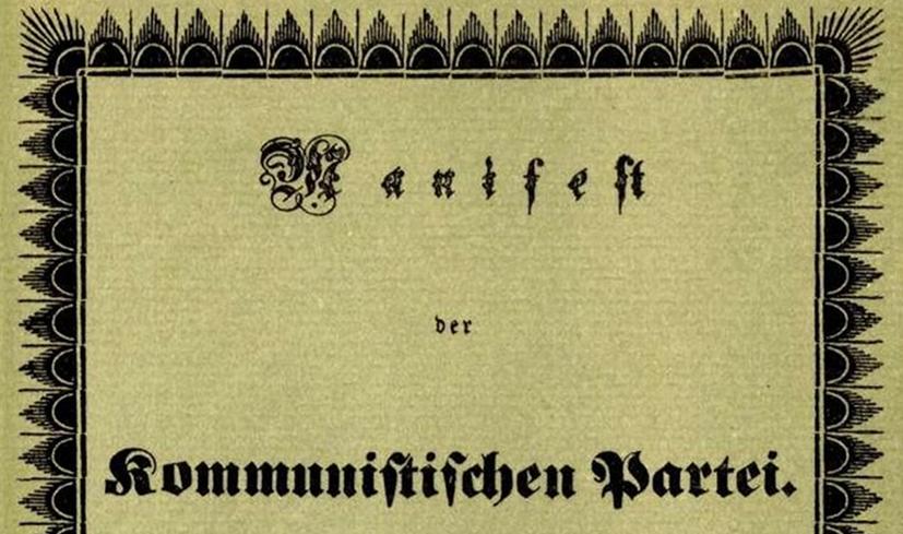 Kommunistisches Manifest - erste Kampfschrift gegen den Antikommunismus