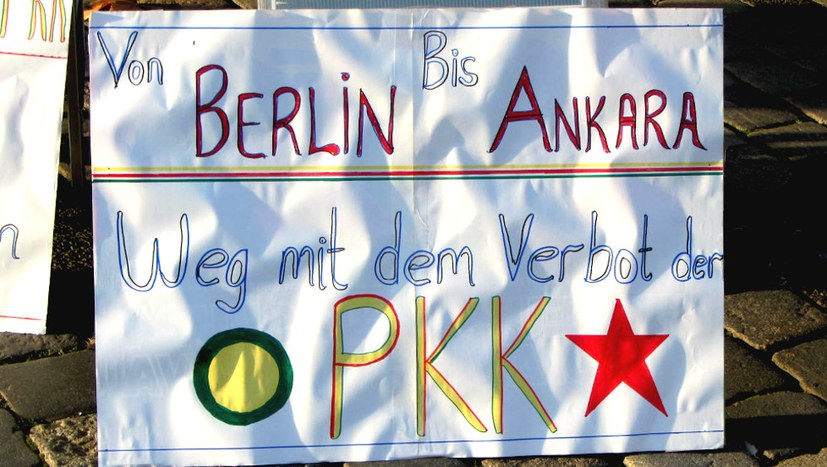 Quintessenz in Darmstadt: Internationale Solidarität statt PKK-Verbot