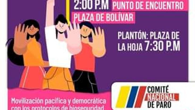Auch in Kolumbien wird demonstriert