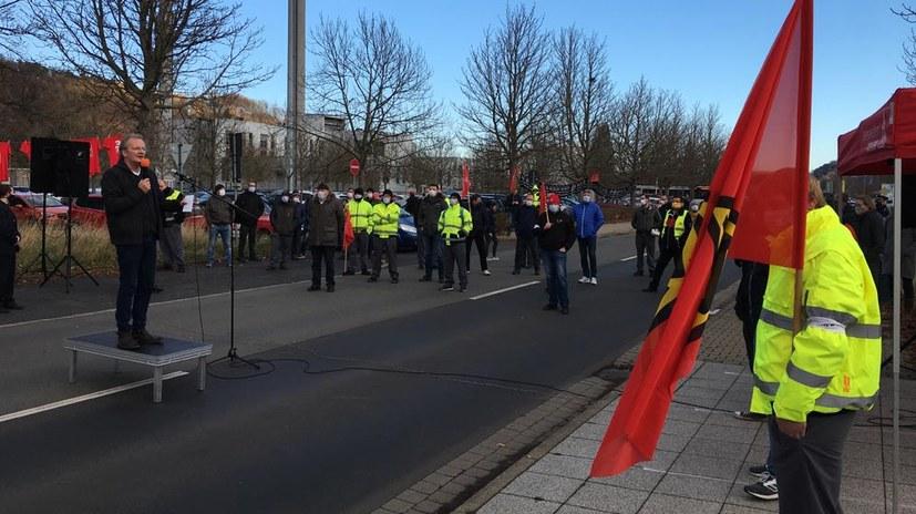 Opelaner fordern 250 Neueinstellungen beim IG-Metall-Aktionstag