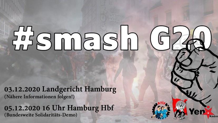 Solidarität mit den G20-Angeklagten!