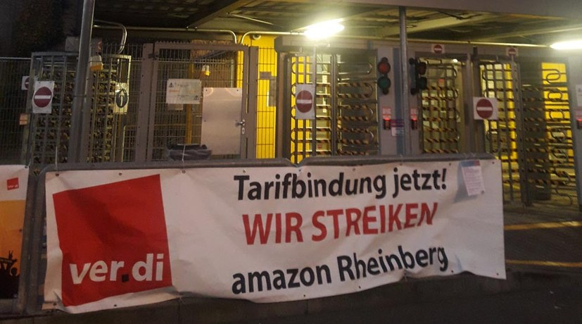 Streiks bei Amazon in der Black-Friday-Woche