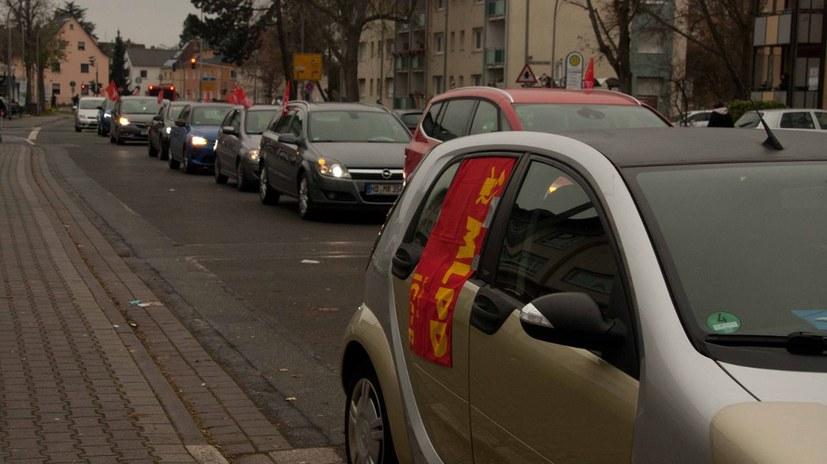Beeindruckender Korso durch Rüsselsheim