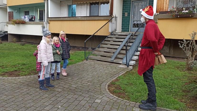 Der rebellische Nikolaus ist unterwegs