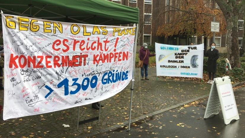 """Bundesweiter Aktionstag """"Solidarität gewinnt"""" - wie soll der Kampf weitergehen?"""