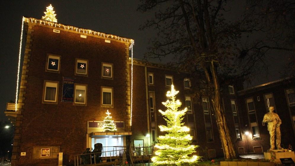 Horster Mitte im winterlichen Lichterglanz
