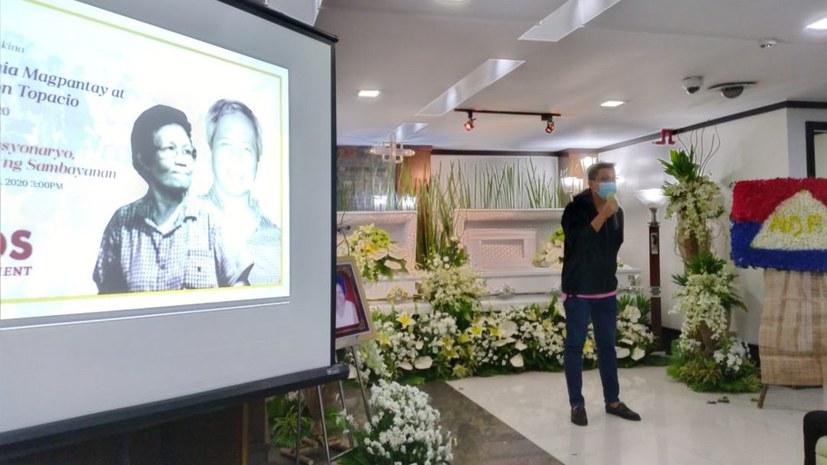 MLPD kondoliert zum Tod von Eugenia Magpantay und Agaton Tapacio