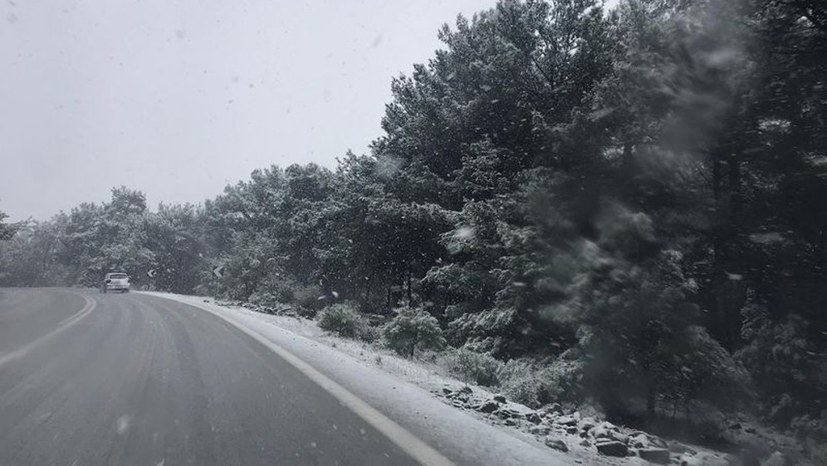 Winterkatastrophe mit Ansage in Kara Tepe