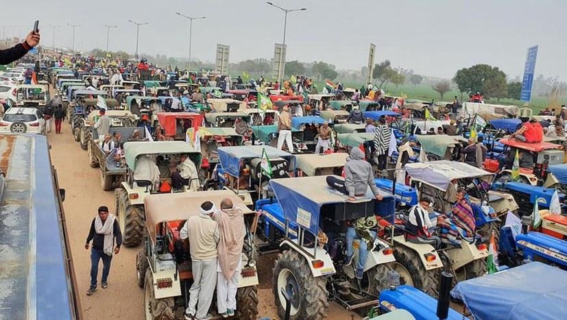 Flammende Bauernproteste und -Unruhen von Indien bis nach Deutschland