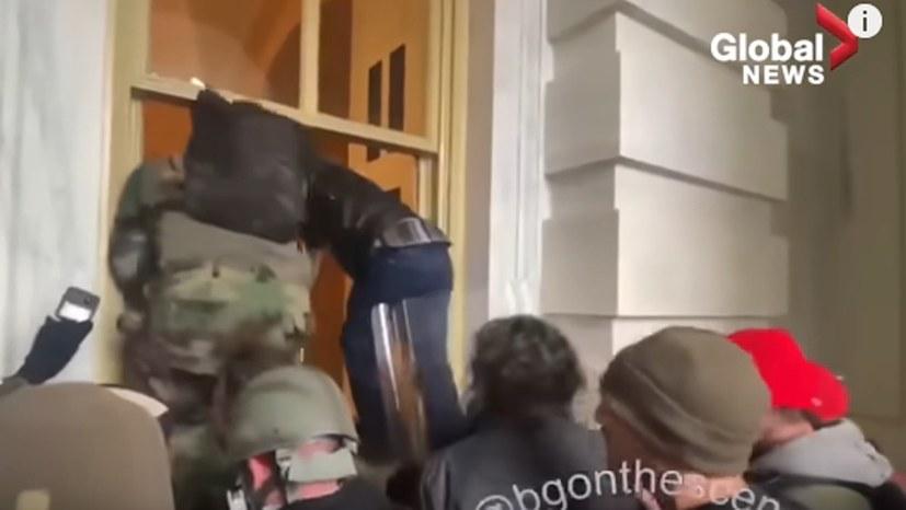 Faschistischer Sturm des Kapitols