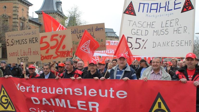 Bundesweiter gewerkschaftlicher Aktionstag am 1. März