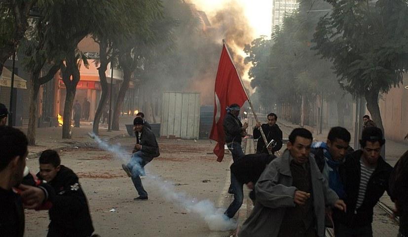 """Erneute Kämpfe zehn Jahre nach dem """"arabischen Frühling"""""""