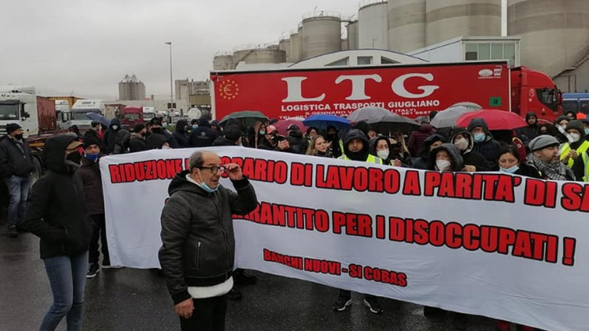 Tausende Arbeiter in mindestens 25 Städten traten in den Streik
