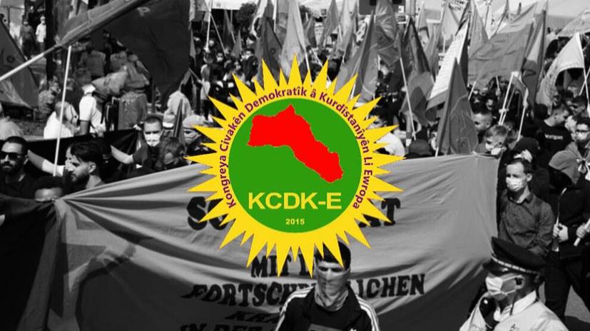 KCKD-E ruft zum Protest gegen türkische Invasion auf