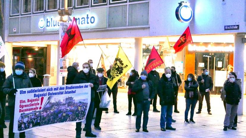 Solidarität mit Studenten an der Universität Bogazici