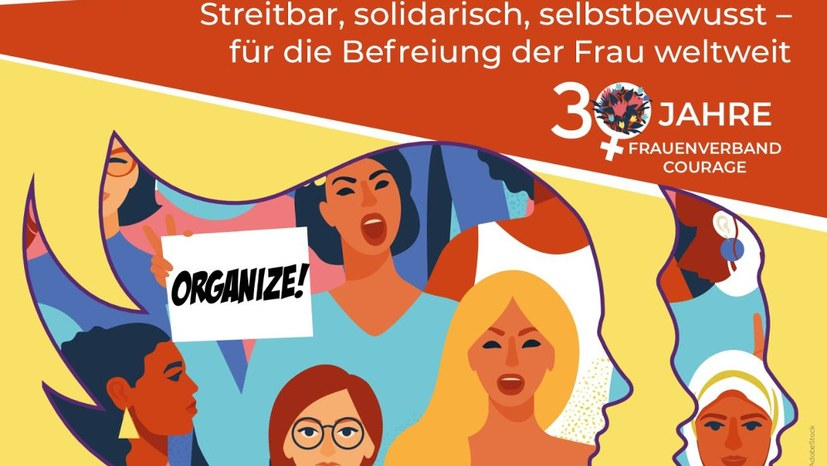 """Courage - ein Frauenverband mit Perspektive!"""