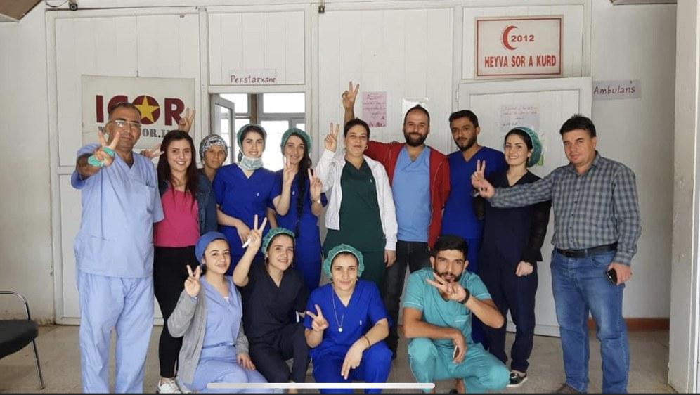 22.359 Kinder kamen in der ICOR-Klinik in Kobanê auf die Welt