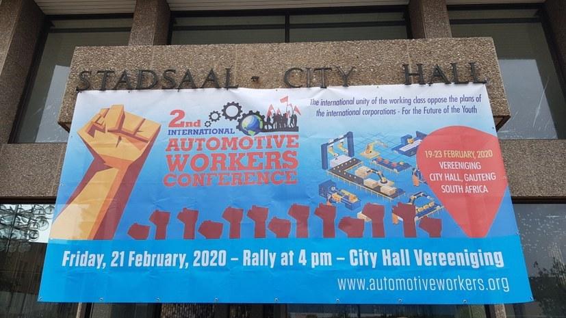 Vor einem Jahr: 2. Internationale Automobilarbeiterkonferenz