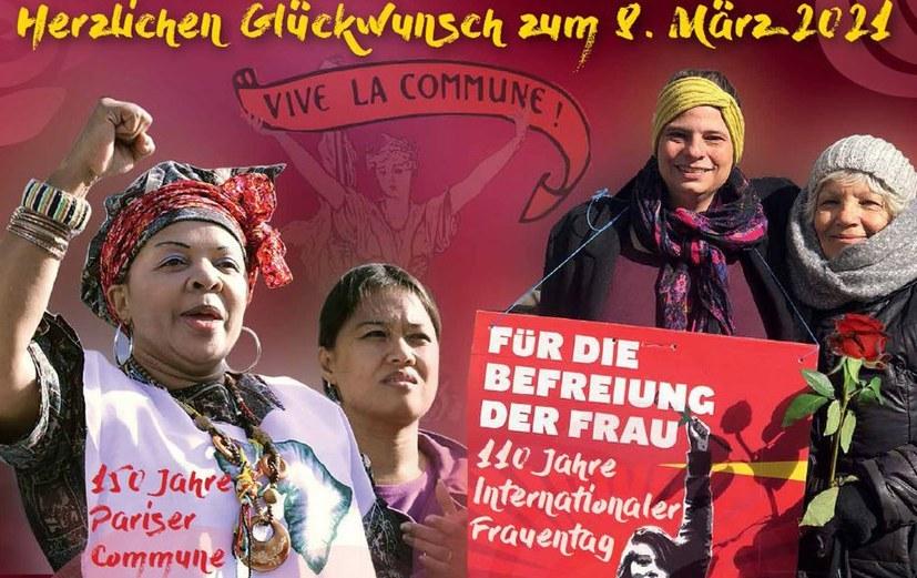 Einen kämpferischen, festlichen und fröhlichen Internationalen Frauentag!
