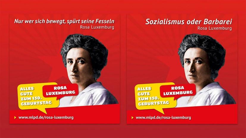 Rosa Luxemburg: Ich bin, ich war, ich werde sein