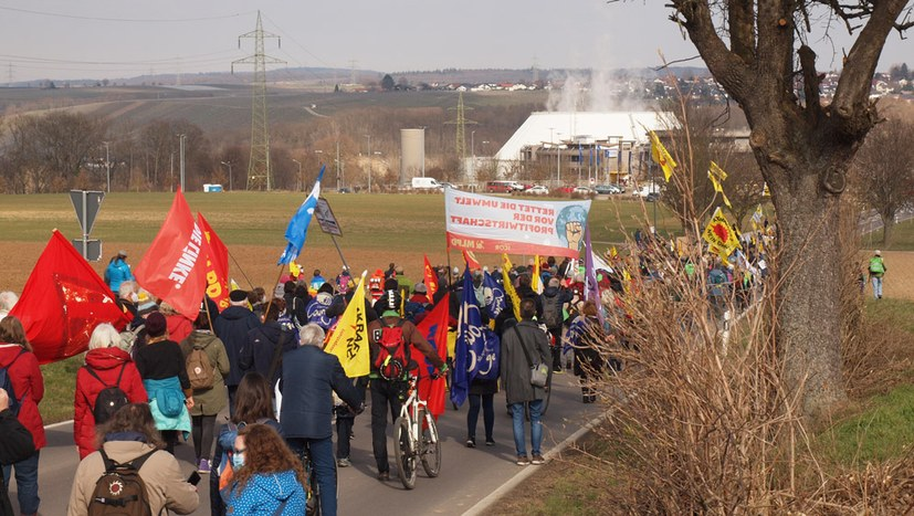 500 AKW-Gegner demonstrieren am Störfall-Reaktor
