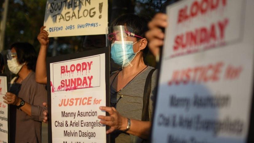 Blutsonntag in den Philippinen