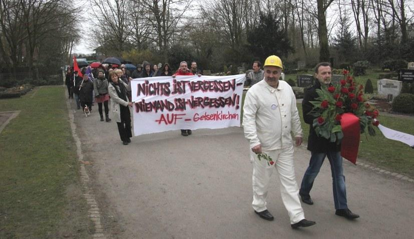Gedenken an die Rote Ruhrarmee verboten? Das kommt nicht in Frage!
