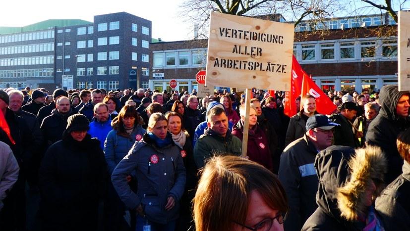 Nein zum Ausbeutungsprogramm von MAN ES / VW!