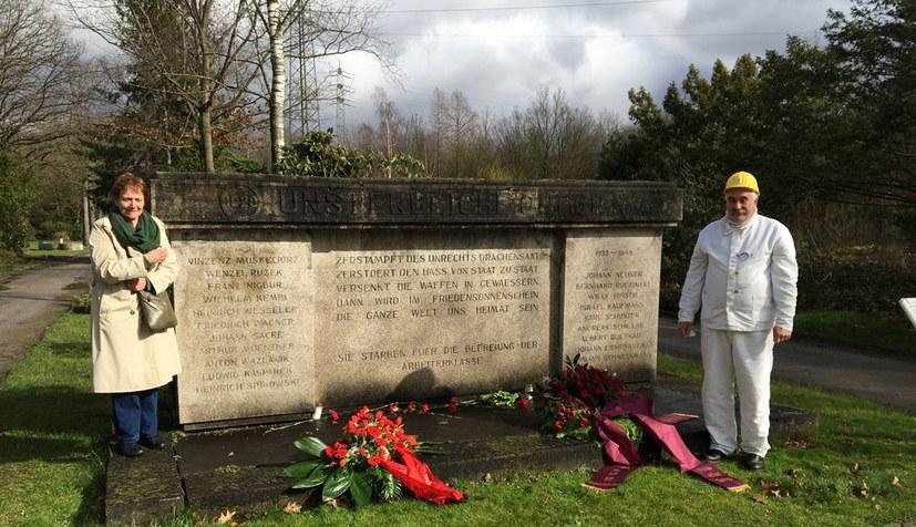 Würdiges und zukunftsgewandtes Gedenken an die Freiheitskämpfer der Roten Ruhrarmee