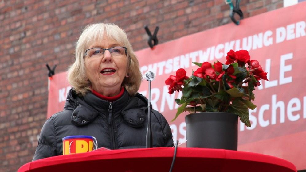 Monika Gärtner-Engel bei ihrer Rede (rf-foto)