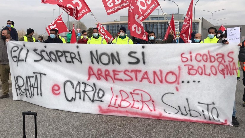 Solidarität mit den kämpfenden Arbeitern bei FedEx-TNT in Piacenza und Prato (Italien)