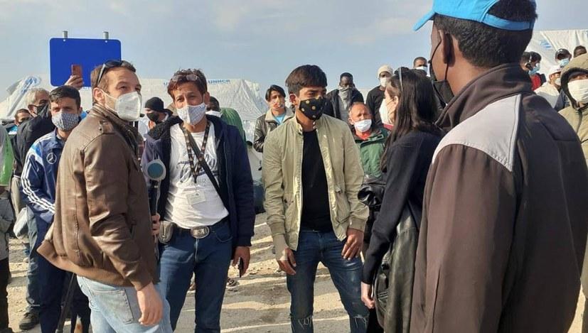 EU-Kommissarin auf Lesbos nicht willkommen
