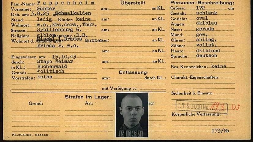 Kondolenzschreiben zum Tod von Günther Pappenheim