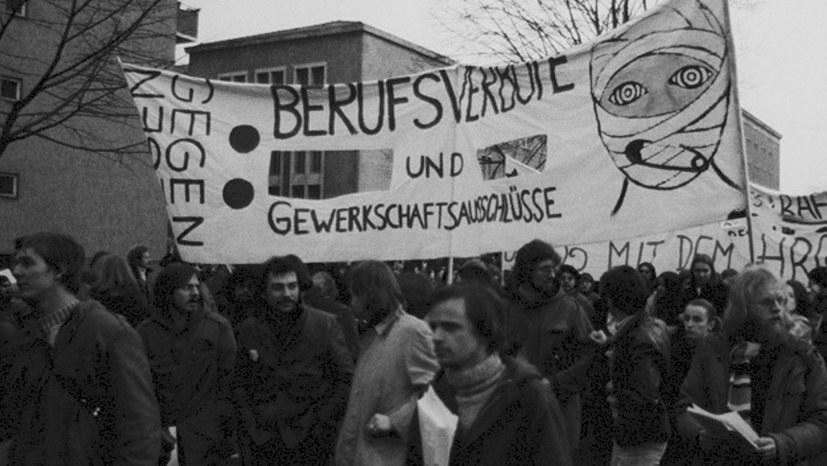 """""""Radikalenerlass"""" offiziell aufheben! Weg mit dem Unvereinbarkeitsbeschluss gegen die MLPD!"""
