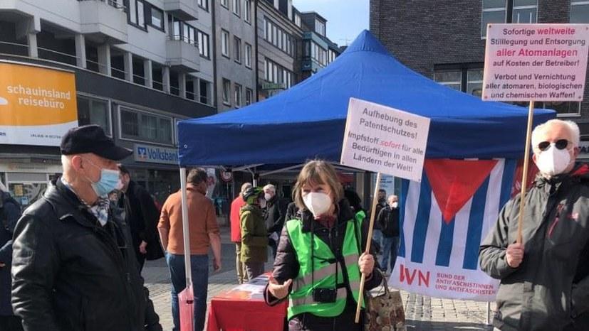 """Duisburg: """"Atomwaffenverbot umsetzen. Abrüsten. Klima schützen"""""""