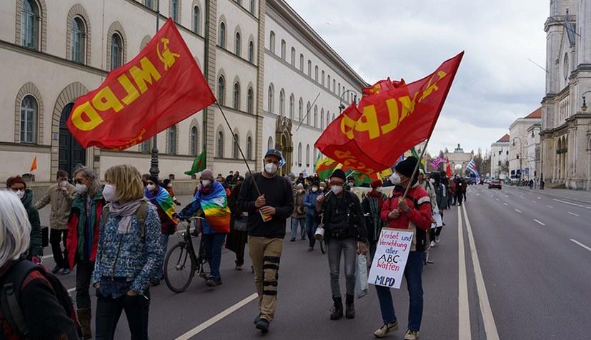 Protest gegen Aufrüstung und Ringen um konsequenten Kampf um Frieden