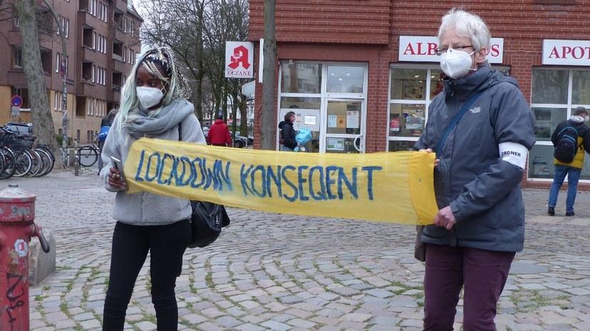 """""""Wir bleiben laut"""": Viel beachtetes Osterkonzert für einen konsequenten Lockdown"""