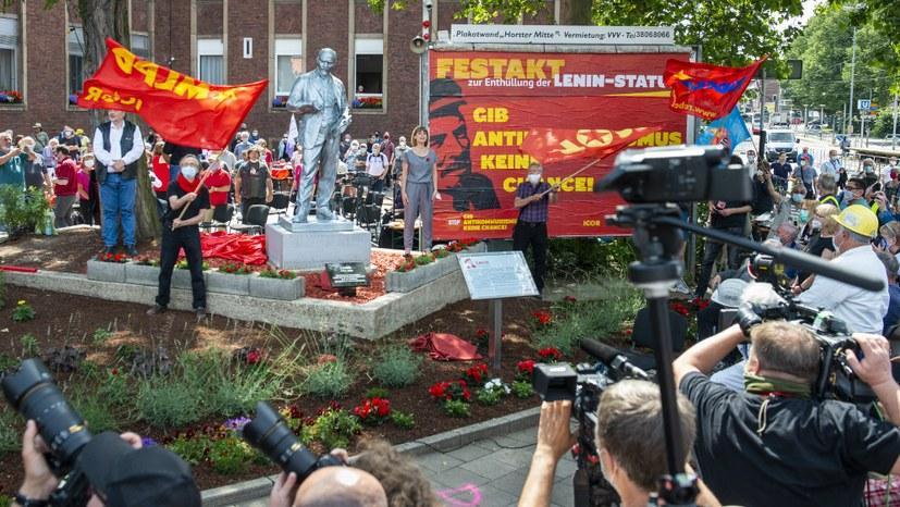 Auch in Rumänien: Stolz auf die Gelsenkirchener Lenin-Statue
