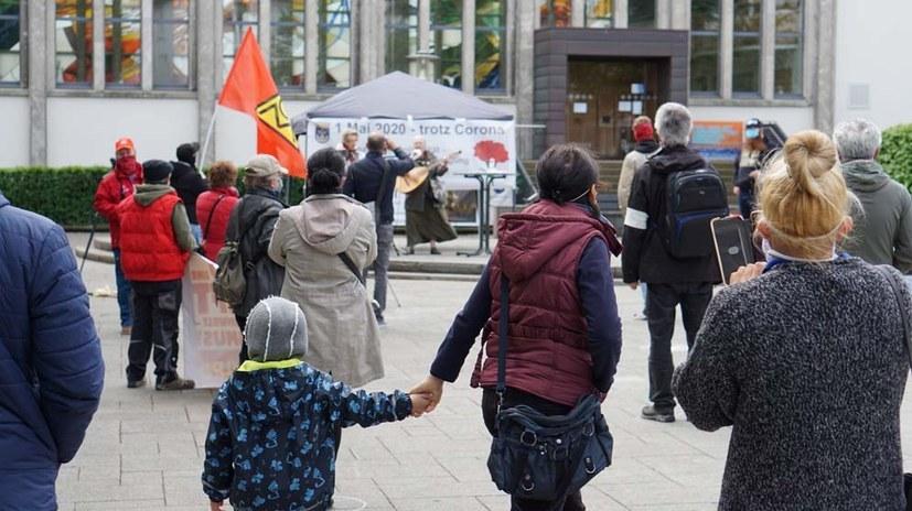 Am 1. Mai mit Gesundheitsschutz auf die Straße