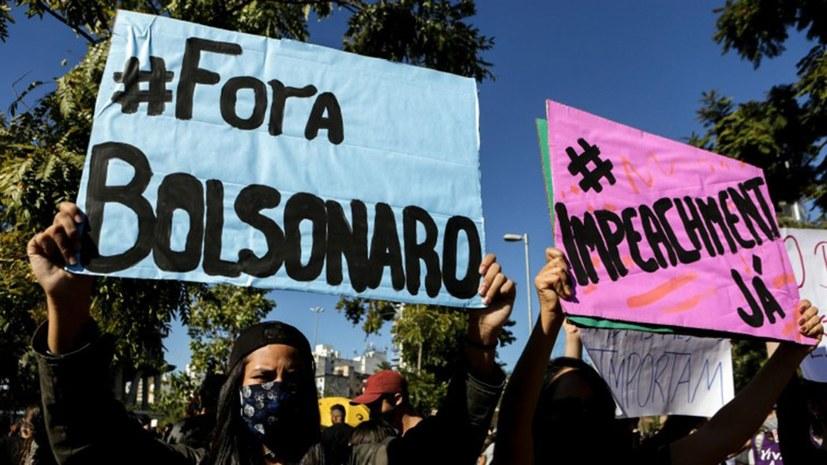 """Furchtbare Entwicklung der Corona-Pandemie - """"Bolsonaro-Raus""""-Rufe werden lauter"""