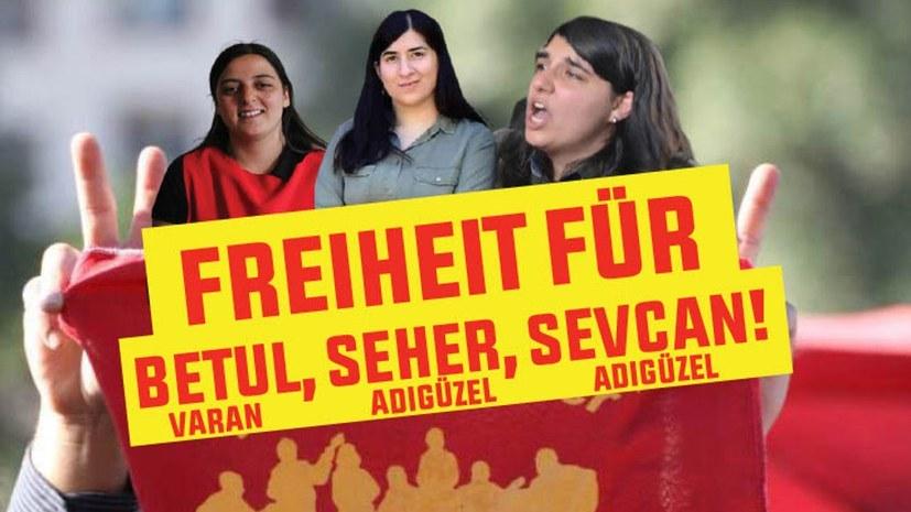Gerichtstermin von Seher Adigüzel und Betül Varan verschoben
