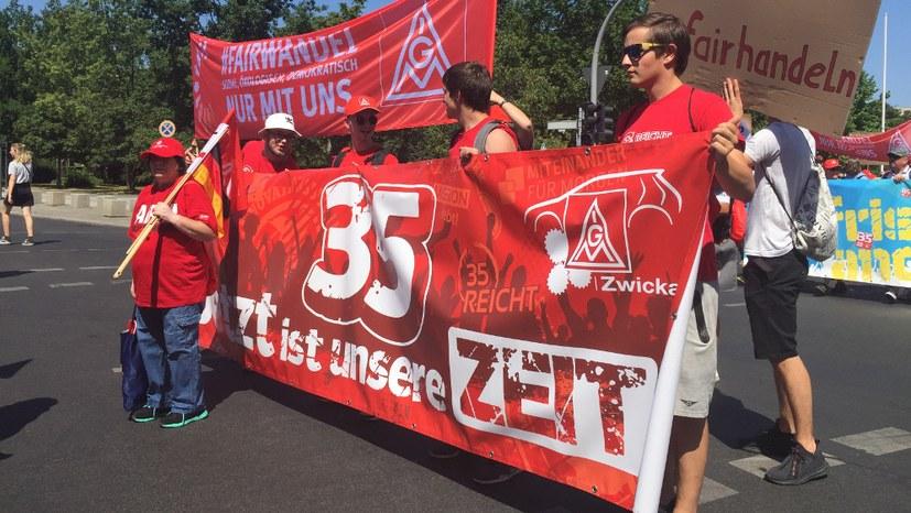 Tarifauseinandersetzung in Berlin-Brandenburg-Sachsen verschärft sich