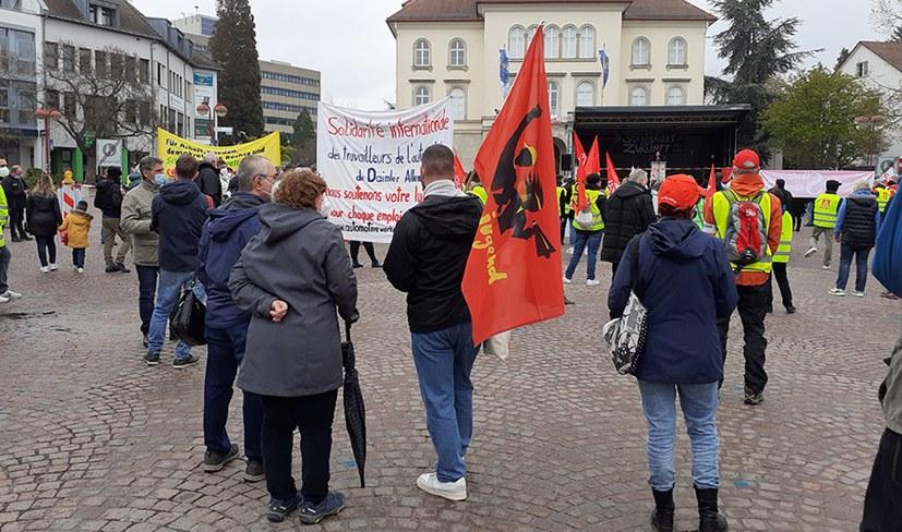Sindelfingen: Solidaritätsresolution für Kollegen in Berlin - Brandenburg - Sachsen verabschiedet