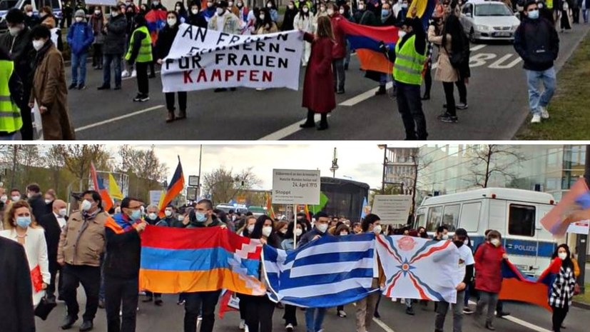 Gedenken an den Völkermord an den Armeniern
