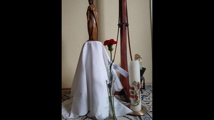 Wie die Rotfuchs-Nelke ihren Weg zu Maria fand