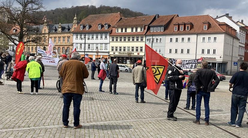 Eisenach: Viele solidarische Gespräche