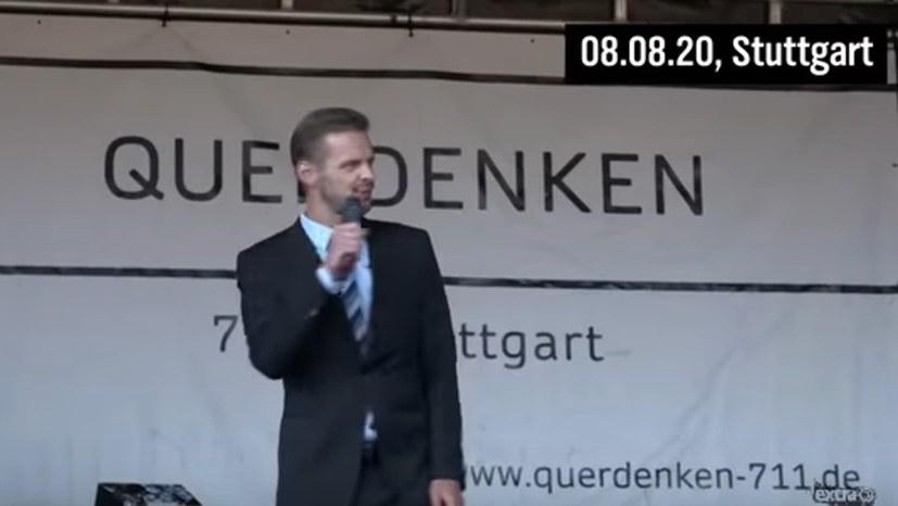 Florian Schroeder geigt Corona-Leugnern die Meinung