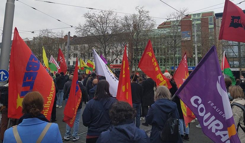 Kassel: Erfolgreicher 1. Mai auf der Straße – MLPD unübersehbar