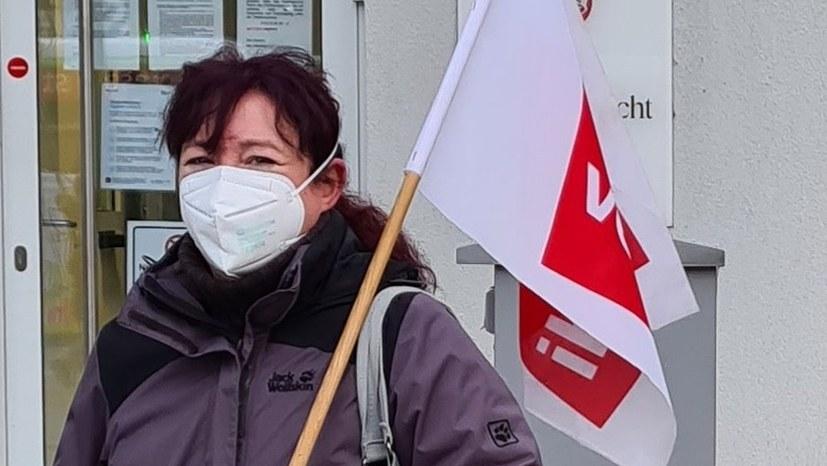 Morgen Kammertermin Kristin Zuber wegen Zwangsversetzung