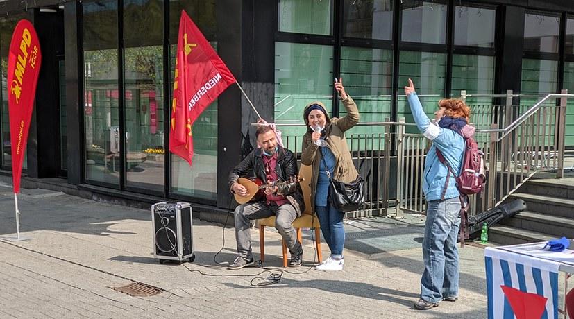 Velbert: Kulturvolle Kundgebung